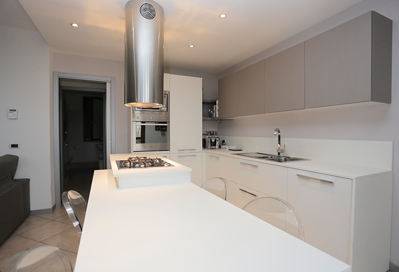 Zona Living con Cucina - HP Interior